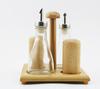 Unique Oil and Vinegar Stand set