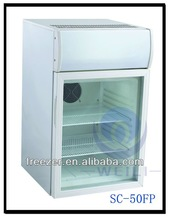 50L bancada de bebida Mini frigorífico com chave