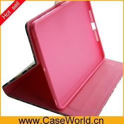 For ipad mini 2 Leather case for ipad mini PU leather case cover