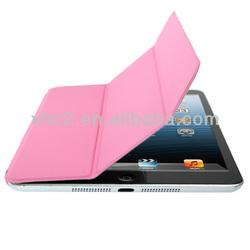 Wholesale Pink 3 fold Smart Cover for iPad mini Retina