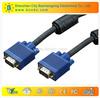 factory derict 15 PIN SVGA SUPER VGA Monitor M Male 2 Male Cable FOR PC TV