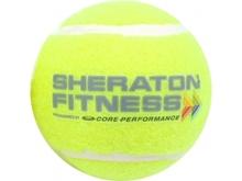 Tennis Ball with Logo Print