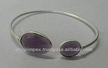 Modern design de jóias de prata, 925 pulseira de prata esterlina