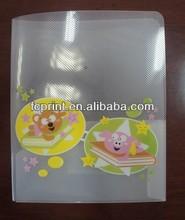 Fancy plastic pp a3 file folder