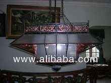 copper hang lamp