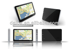 "2014 hottest 7"" GPS with bluetooth Av-in 800MHZ HD touch screen car gps navigator"