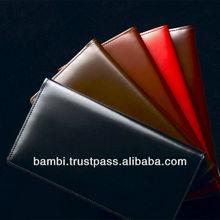 Matsusaka calf leather types of mens wallets made in japan
