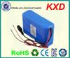 rechargeable 1865 li ion battery 24 volt 10amp for sale