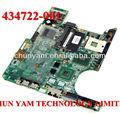 Oem 434722-001 pavilion dv6000 intel portátil pc portátil systemboard placa base para hp compaq tested+ envío gratis
