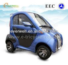 EEC electric car 4.5KW AC motor 60km/h max speed
