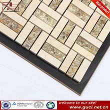 Resin floor mosaic stone tile