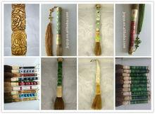 natural jade Chinese writing brush, fashion calligraphy pen
