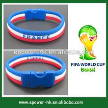 gift item world cup brazil 2014 bracelet France