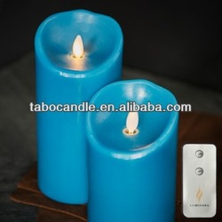 Blue Sage Moving Wick Flameless Candle