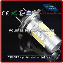 H7 High Output 6W High Power LED Bulbs Fog or accent lighting car accessory
