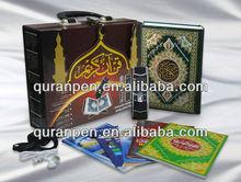 Good quality digital quran pen V-2 with lcd screen quran mp3 player