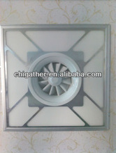 2013 new products 600x600 led panel ceiling fans with led lights 38w