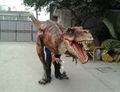 Dinossauro mecânico traje para adultos