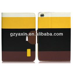 Lady used cute rotating leather case for ipad mini 2