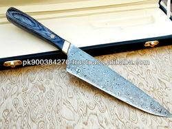 Custom made J-2 Steel Chef knife Chef-1