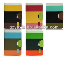 folding stand leather case for ipad mini,luxury leather case for ipad mini