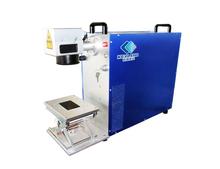 Metal Etching and Marking 10w 20w Hi-speed Scanning Galvo Mirror Fiber Laser Marking Machine Lowest Price