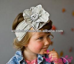 Hot Sale handweave Baby Flower Headband,girl headband,baby cotton headband in wholesale