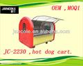 2013 new carrinho JC-2230 Street kiosk para a venda de alimentos / fabrica reboque de lanches / hot dog reboques
