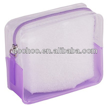 clear pvc zipper bag