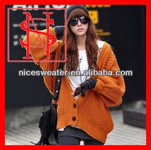 2013 fashion casual bat sleeve women sweater winter clothing
