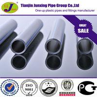 Black polypropylene pipe, hdpe material,PE100,SDR17,PN20