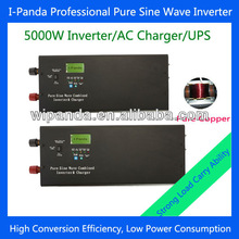 LED LCD Low frequency ups solar panel for charging power Converter 5000W