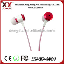 Promotional mobile earphone for samsung cell phone (OEM manufactory)