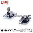manual reset bimetal temperature switch