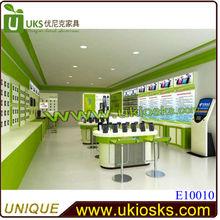 Manufacturer sale phone case kiosk phone interior design phone shop decoration 3D design