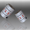 4mm to 12mm Inner Bore D25mm Flexible Jaw Motor Coupling