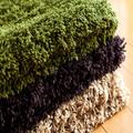Kalın kazık 100% polyester yıkanabilir kilim ve halılar
