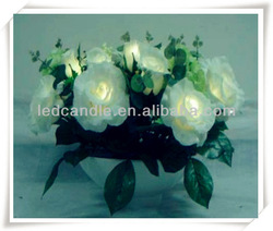 artificial flowers with led lights