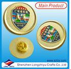Custom Cool Gold Car Badge,Cheap Round Car Emblem For Car Decoration,Car Logo Badge Pin Factory
