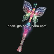 Light Up butterfly fairy wand
