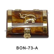 Bone inlay box