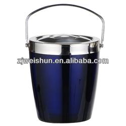 beer promotional items-ice bucket! round metal wine cooler