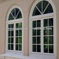wanjia de alta calidad de aluminio círculo superior de la ventana