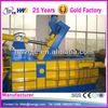 Aluminum scrap baling press hydraulic metal press machine