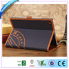 Rotary case for ipad mini, canvas design printed cover
