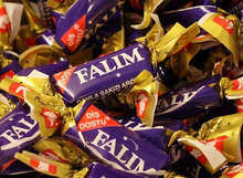 Falim Mastic Flavoured Chewing Gum Individually Wrapped