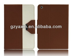 New cute cartoon leather case for ipad mini with stand function for ipad mini cell phone