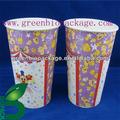 de papel palomitasdemaíz pla taza de contenedores