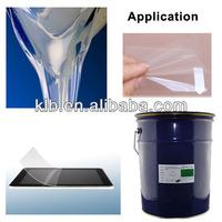 Liquid adhesive/ glue for PET Mylar film Glass lamination film adhesives OCA PSA