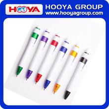 White Tube Match Blue or Black Ink Ballpoint Pen Cheaper Pens